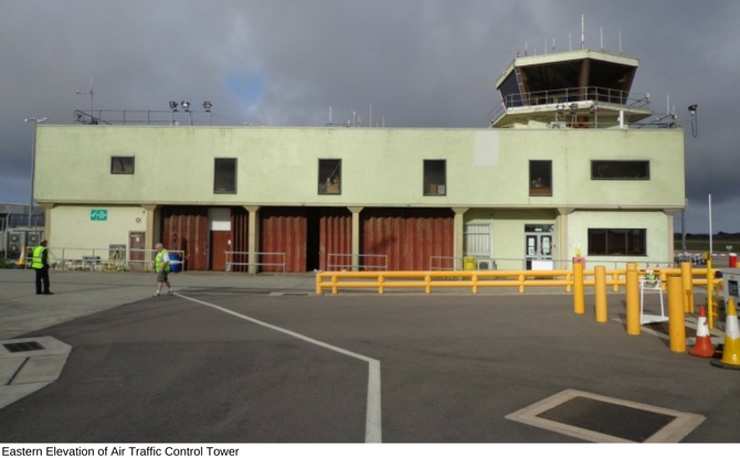 Eastern Elevation of Air Traffic Control Tower